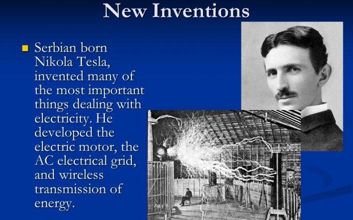 Inventions :: Nikola Tesla